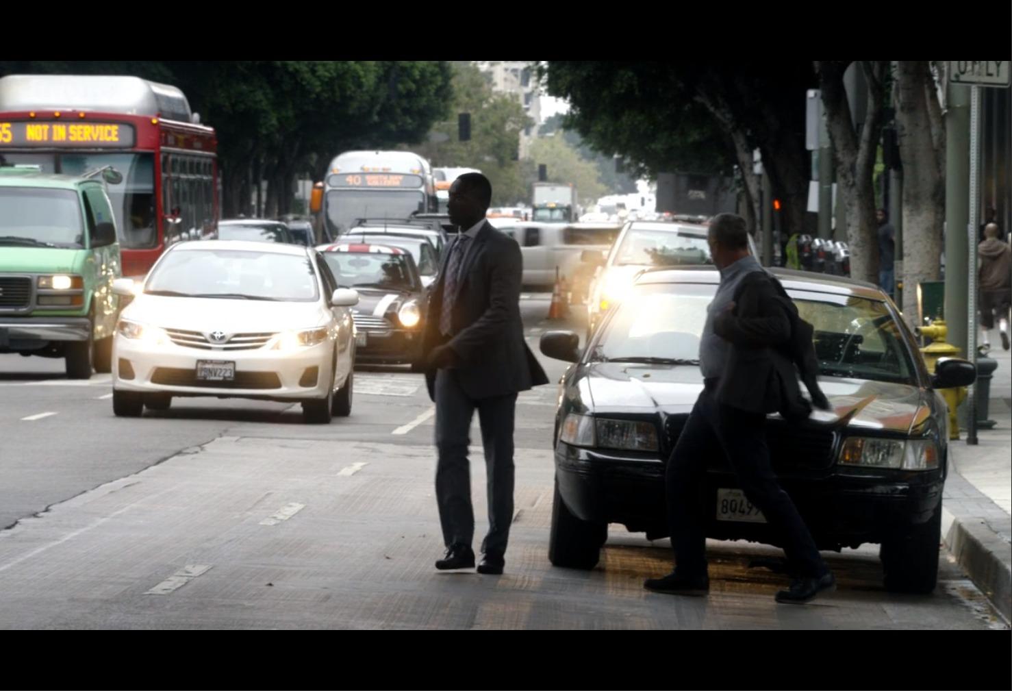AmazonプライムビデオBOSCH二人の警官の画像